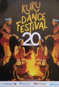 20th Kuru Dance Festival in Dqae Qare San Game Lodge