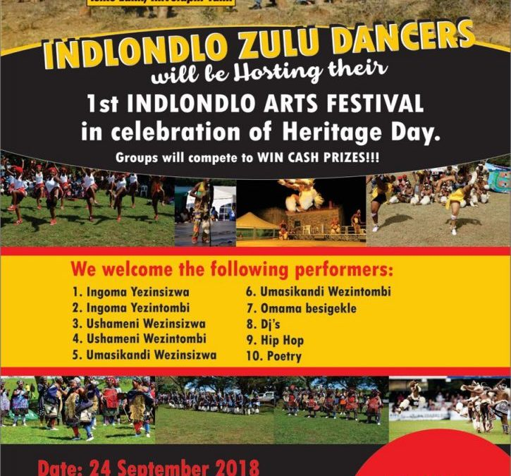 1st Indlondlo Arts Festival