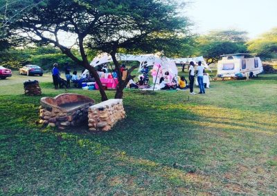 Camping Accommodation The Valley of a Thousand Hills. Indlondlo Zulu Cultural Village.