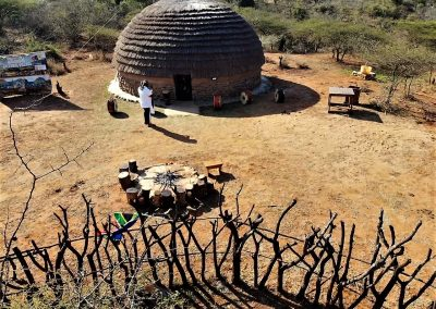Rondavel Traditional Zulu Accommodation The Valley of a Thousand Hills